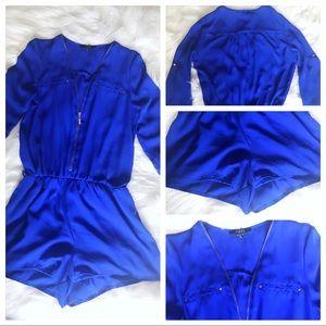 Other - Royal Blue Romper